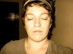 michelle meditating