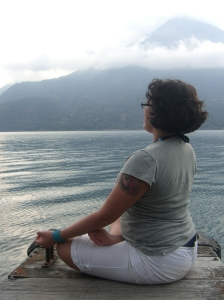 Reflecting on Lake Atitlan