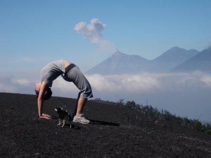 volcano pacaya fuego backbend