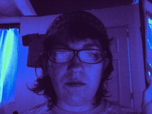 photo booth bangs purple