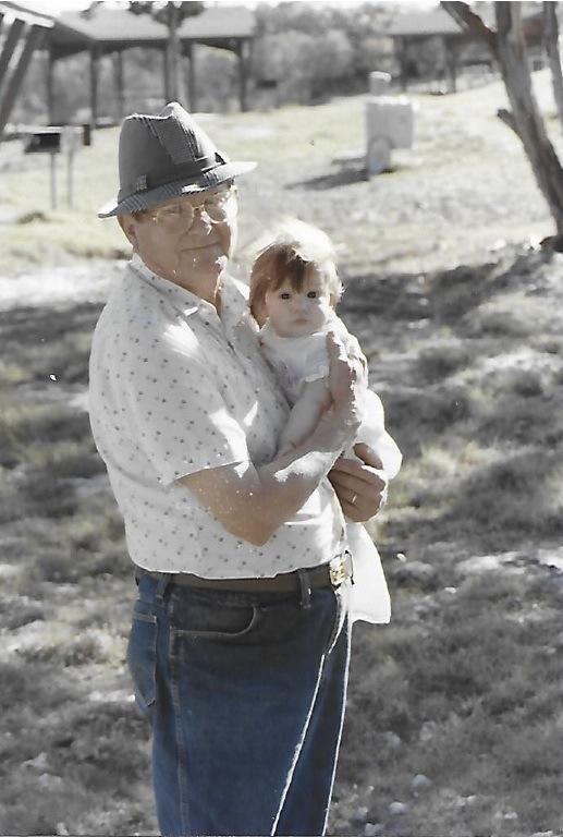 Grandpa Fajkus with Michelle