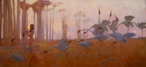 Spirit of the Plains, Sydney Long 1897